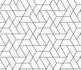 MODERN STYLISH TRELLIS TEXTURE. SEAMLESS VECTOR PATTERN. GEOMETRIC MONOCHROME BACKGROUND