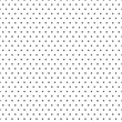 Gray seamless. Far dot pattern. Vector illustration