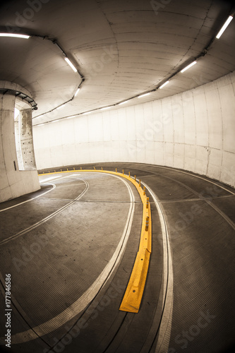 Tunnel road Plakát