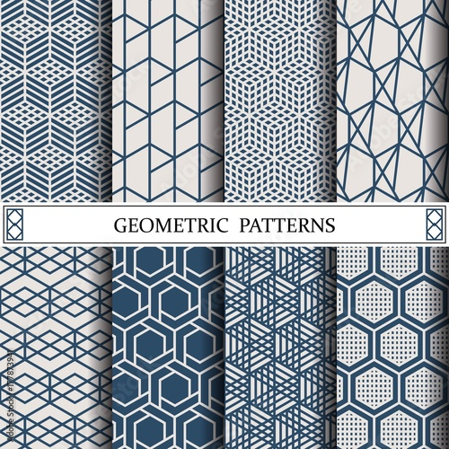 Hexagon Geometric Vector Pattern Pattern Fills Web Page Background