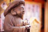 buddha in tokyo temple - 177875177
