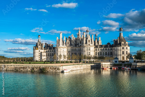 Chateau de Chambord, the largest castle in the Loire Valley, France Poster