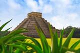 Chichen Itza El Templo Kukulcan temple - 177880909