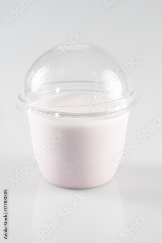 Fotobehang Milkshake Smoothie to go take away milkshake to go healthy juice fresh diet