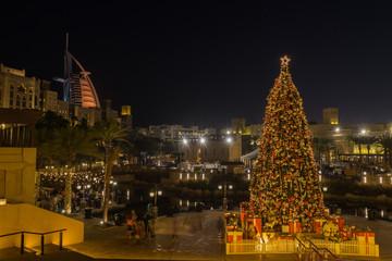 Christmas time in Dubai, UAE United Arab Emirates