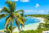 Fototapety Bahia Honda State Park - Calusa Beach, Florida Keys - tropical coast with paradise beaches - USA