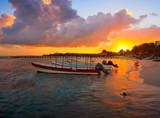 Mahahual Caribbean beach in Costa Maya - 177889946
