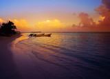 Mahahual Caribbean beach in Costa Maya - 177889947