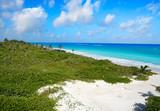 Mahahual Caribbean beach in Costa Maya - 177890380