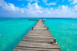 Mahahual Caribbean beach in Costa Maya - 177890715