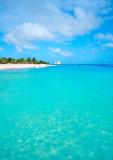 Mahahual Caribbean beach in Costa Maya - 177890732