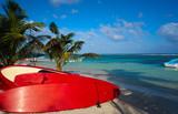 Mahahual Caribbean beach in Costa Maya - 177891537