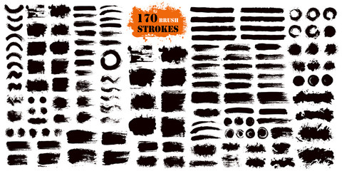 Brush Stroke Paint Boxes Set