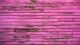 Mahahual Caribbean pink wood painted wall - 177891975