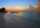 Mahahual Caribbean beach in Costa Maya - 177892305