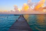 Mahahual Caribbean beach in Costa Maya - 177892338