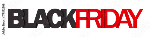 """""""BLACK FRIDAY"""" vector letters icon"""