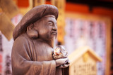 buddha in tokyo temple - 177893310