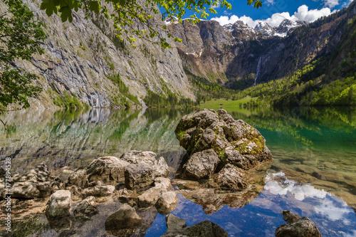 Foto op Plexiglas Bergen Obersee bei Berchtesgaden