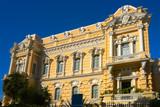Merida yellow facade Paseo Montejo Yucatan - 177895702