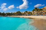 Playa del Carmen beach in Riviera Maya - 177896753