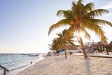 Puerto Morelos beach in Riviera Maya - 177899122