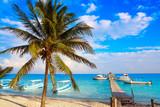 Puerto Morelos beach in Riviera Maya - 177899138