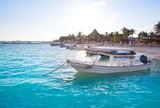 Puerto Morelos beach in Riviera Maya - 177899196