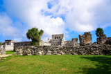 Tulum Mayan city ruins in Riviera Maya - 177902749