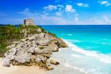 Tulum Mayan city ruins in Riviera Maya - 177902901