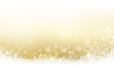 Christmas abstract vector wallpaper with snowfall, glitter, snowflakes and stripe for your content. - 177908586
