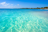 Mahahual Caribbean beach in Costa Maya - 177910531