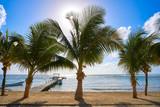 Mahahual Caribbean beach in Costa Maya - 177910994