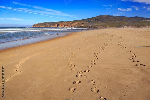Praia Grande do Guincho Poster
