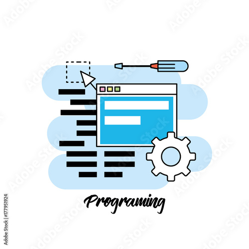 system programming technology with website code