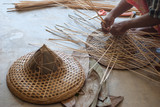 Weaving Bamboo Hat