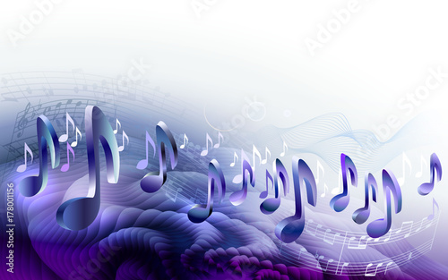 abstract-sheet-music-design-background-with-3d-musical-notes