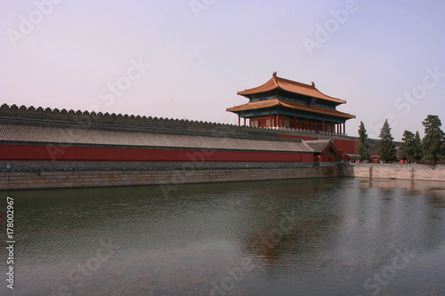 Papiers peints Pekin Forbidden City's moat