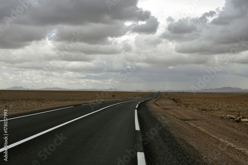Fotobehang Marokko Marruecos carreteras