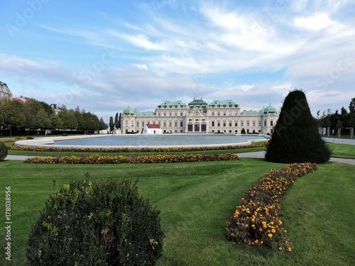 Belvedere, Vienna Poster