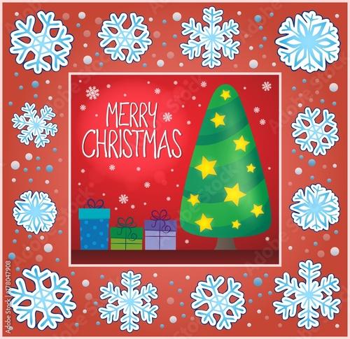 Papiers peints Enfants Christmas ornamental greeting card 6