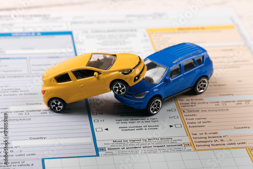 toy cars on accident statement