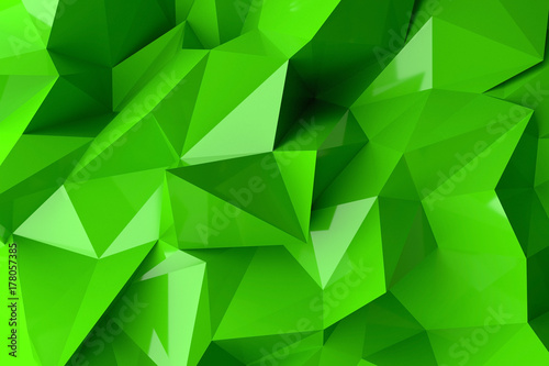 Abstract background. 3D rendering.