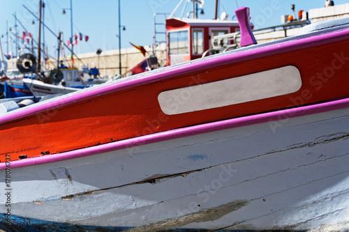 Foto Murales Vieille barque de pêche
