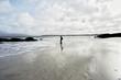 Spiaggia deserta nel nord della scozia