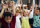 Happy kids at elementary school - 178098103