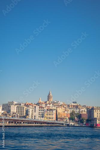 Galata skyline Poster