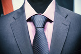 shirt tie and suit jacket on a mannequin - 178106962