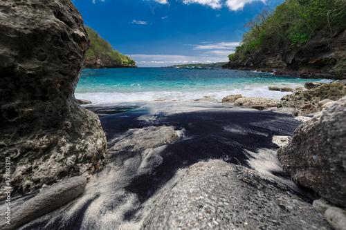 Fotobehang Tropical strand Pandan beach at Nusa Penida island. Indonesia