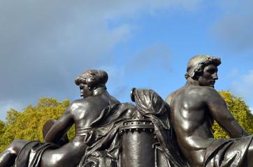 Bronzeskulptur in London